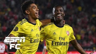 Arsenal's Eddie Nketiah nets winner in ICC victory over Bayern Munich | International Champions Cup