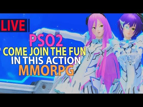 Phantasy Star Online 2 (PSO2) - Come On And Join The Fun In This Action MMORPG, LIVE!!