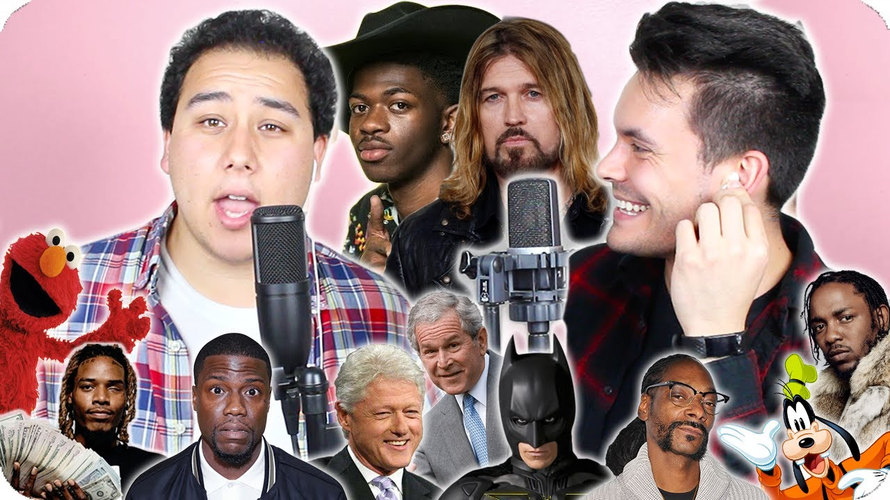 Lil Nas X Billy Ray Cyrus Old Town Road Impersonation Cover Live One Take