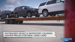 Car inventory empty, sales, rental prices stuck in high gear