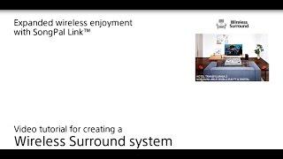 How to setup Wireless Surround