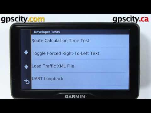 Garmin Nuvi 2797LMT: Secret Diagnostic Screens With GPS City