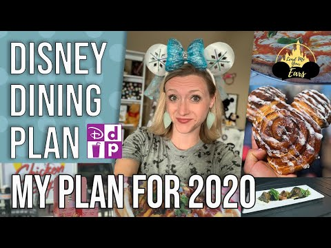 The BEST Disney Dining Plan 2020 Practical Application