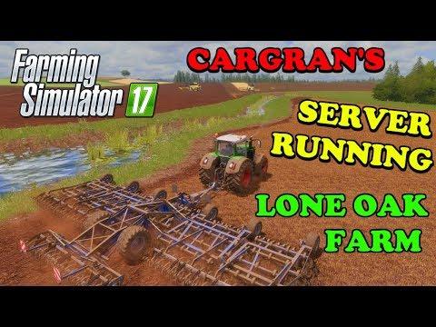 Farming Simulator 17 | GOOD EARTH 24/7 FARMING server | Lone Oak Farm | Episode 2 | Timelapse thumbnail