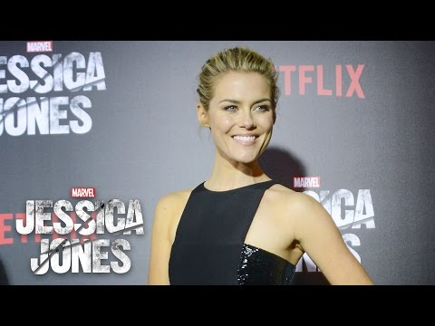 Rachael Taylor on Trish Walker  Marvel's Jessica Jones Red Carpet