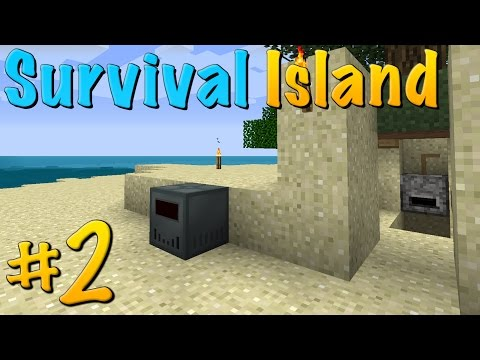 Mining & Grinding (Modded Survival Island | #2)
