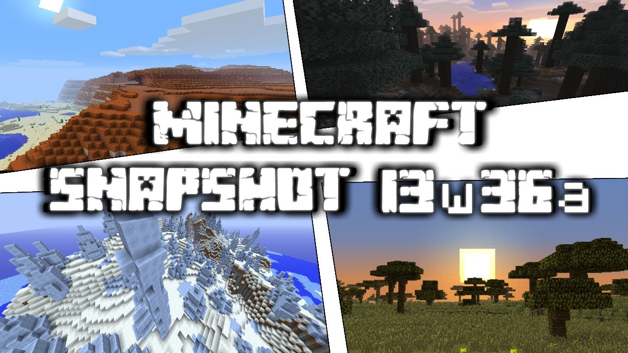 Minecraft snapshot 13w36a how to install