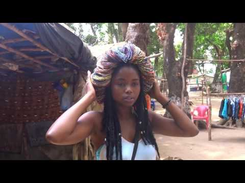 Vlog #1 beach day with my bestie. River #2, Sierra Leone, We