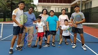 Trial Tennis Class For Kids Singapore Mar 2018 | Tennis Lessons for Beginners