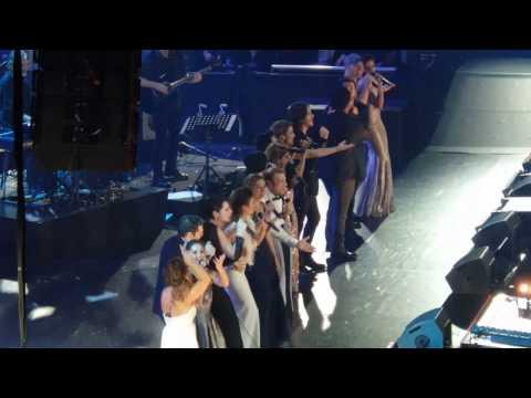 31.10.2016 Barcelona - OT El Reencuentro, Mi música es tu voz (HD)