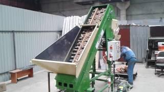 фасовка картофеля оборудование, фасовка овощей оборудование, фасовка картофеля и овощей в сетки