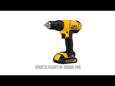 Power Tool Review - Dewalt DCD771C2 20V MAX Cordless Lithium Ion 12 inch Compact Drill Driver Kit