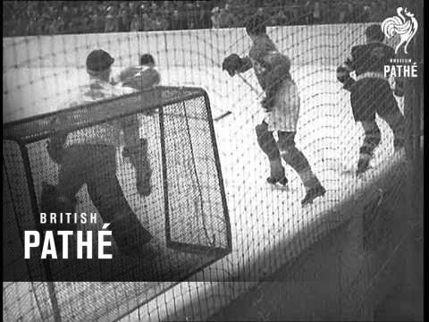 Ice Hockey At Berlin Stadium (1938)