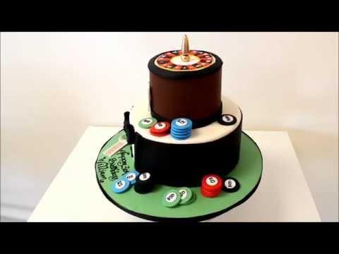Casino Theme Cake Demonstration