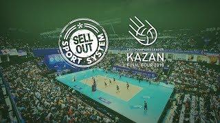 Финал четырех волейбольной Лиги Чемпионов в Казани