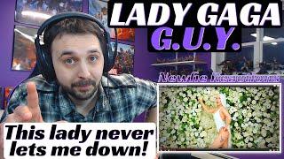 Lady Gaga Guy Reaction