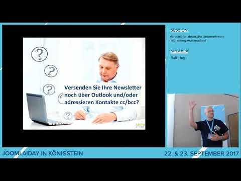JD17DE - Verschlafen deutsche unternehmen Marketing automation?
