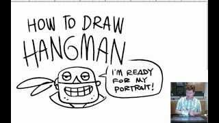 Nathan Hale HOW TO DRAW HANGMAN