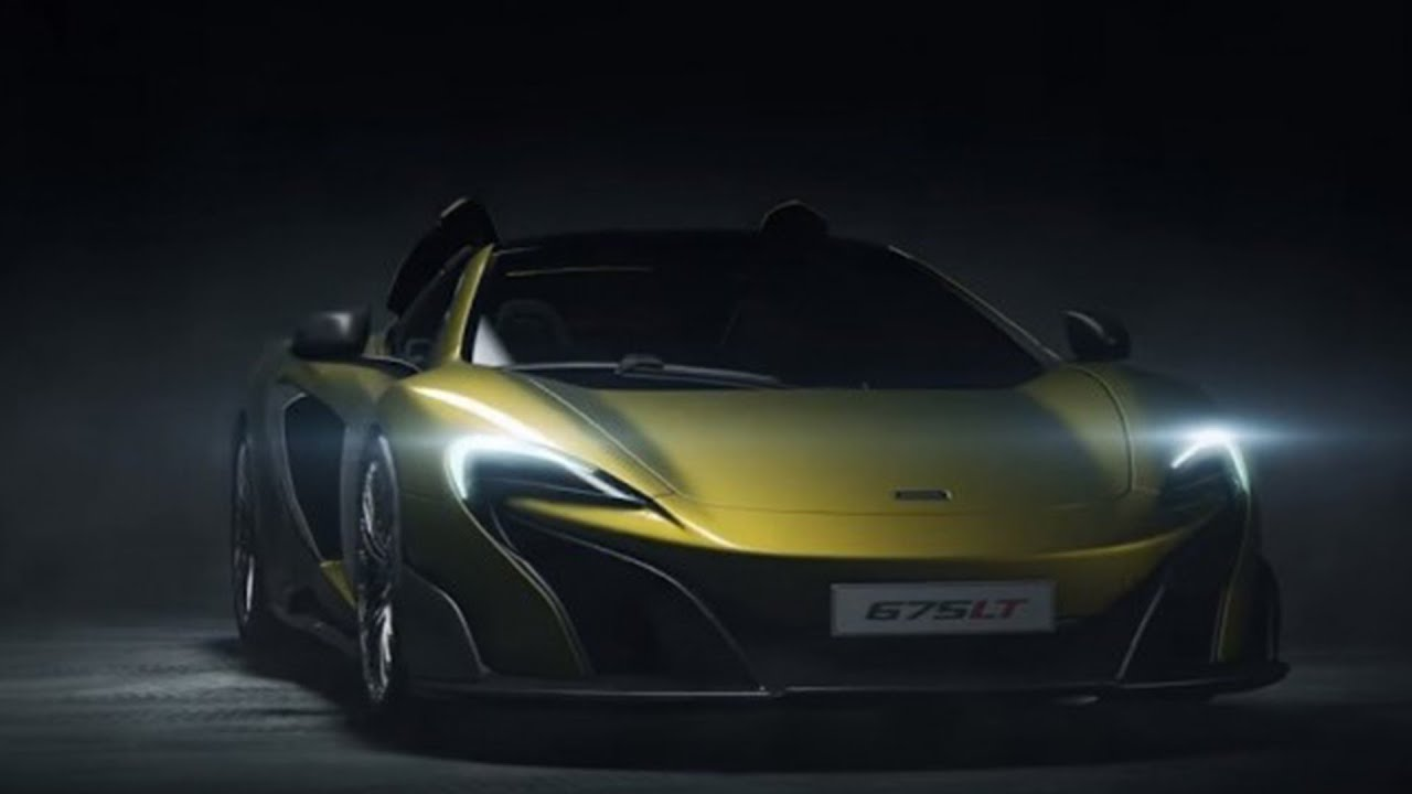2017 MCLAREN 675LT SPIDER - OFFICIALLY UNVEILED - YouTube