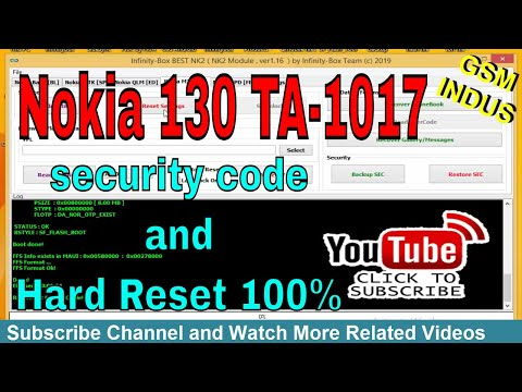 nokia 130 security code reset - Myhiton