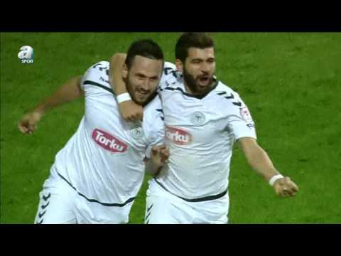 Torku Konyaspor 1 - 0 Antalyaspor Maç Özeti (31 Ocak 2016)