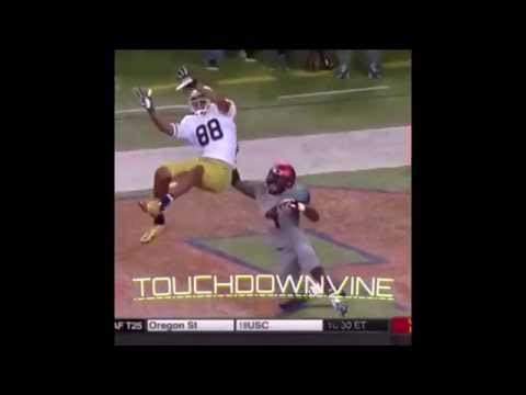 AFL vs NFL marks & catches compilation