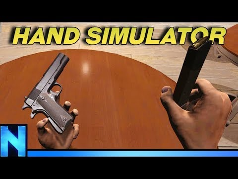 The Most Difficult Game Ever Made - HAND SIMULATOR