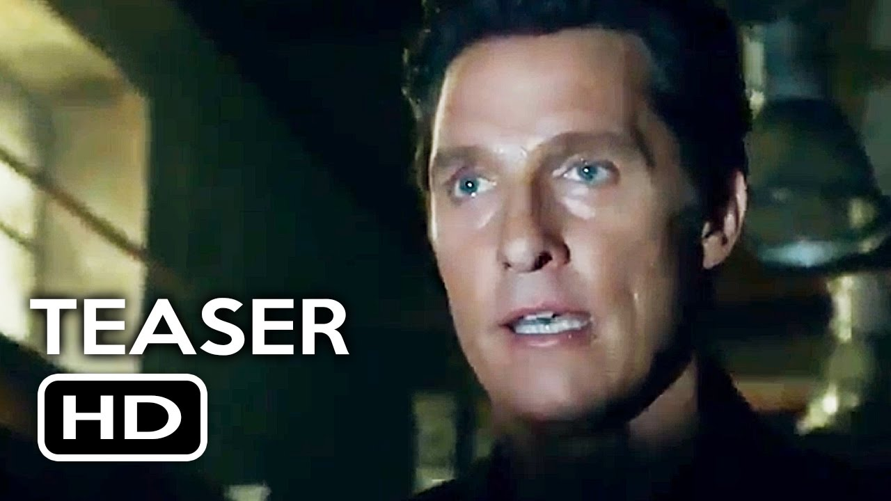The Dark Tower Official Trailer #1 Teaser (2017) Matthew McConaughey Fantasy Movie HD