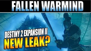 Destiny 2 Expansion II Leak? The Fallen Warmind Surfaces & Bungie Dev Q&A on Twitter!