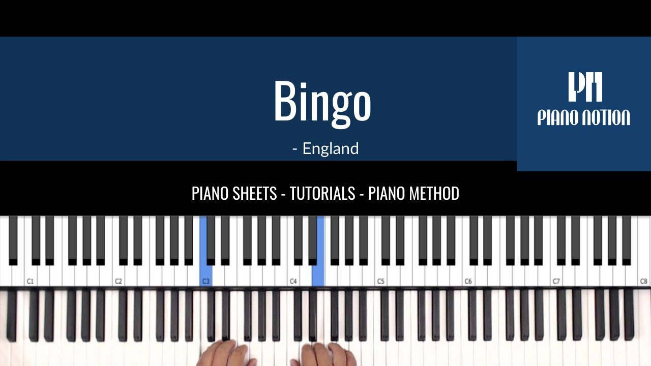 Bingo Nursery Rhymes Free Easy Sheet