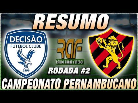 Decisão x Sport Ao Vivo l Campeonato Pernambucano l Quadrangular l Narração