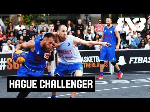 FIBA 3x3 Hague Challenger 2017 - LIVE