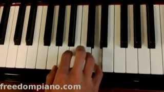 Happy Birthday Piano (tutorial)
