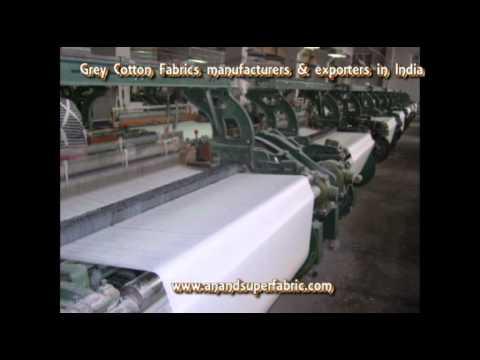 grey cotton fabrics exporters India