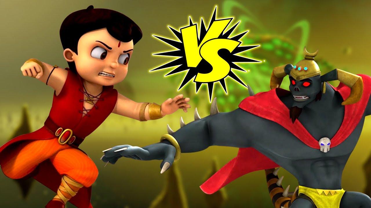 Download Super Bheem - Super Fight With Kirmada! | Bheem Hindi Cartoon for Kids