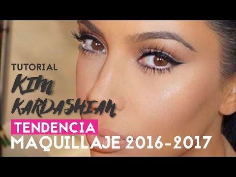 Tutorial de maquillaje KIM KARDASHIAN - Tendencia 2016-2017 - STROBING Y CONTOURING// AZUMAKEUP