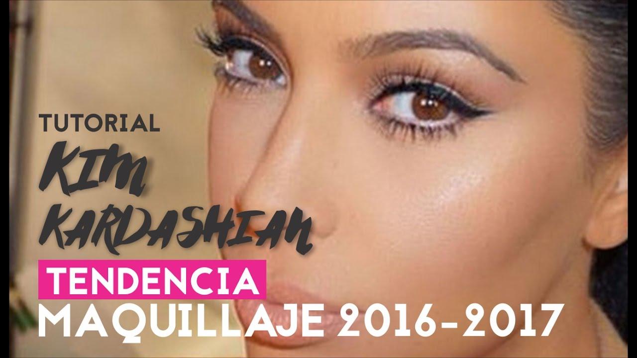Tutorial de maquillaje KIM KARDASHIAN , Tendencia 2016,2017 , STROBING Y  CONTOURING// AZUMAKEUP