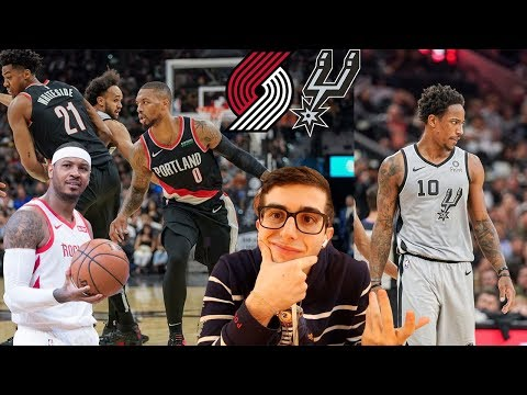 where-is-melo!??!-i-did-not-expect-this-ending...-blazers-vs-spurs-reaction