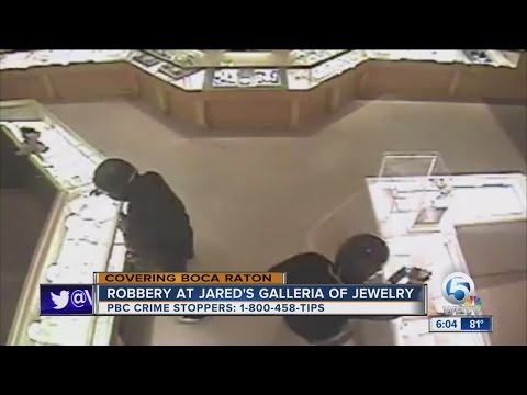 Robbery at Jared's Galleria of Jewelry