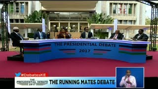 DP William Ruto's statement on why he's not attending the Presidential running mates debate