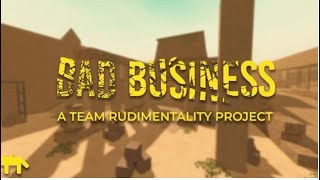 Bad Business Game play (ROBLOX)