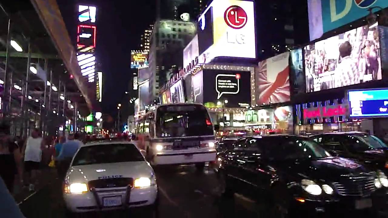 Walking around times square in nyc in the dark youtube for What to do around times square