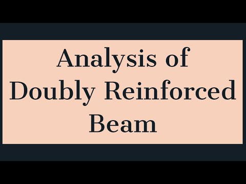 Analysis of Doubly Reinforced Beam | Limit State Method