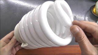 Блок питания из энергосберегающей лампы