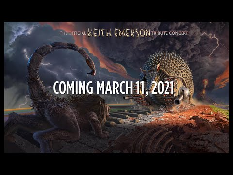 The Official Keith Emerson Tribute Concert 2016 - Blu-ray - Coming March 11, 2021