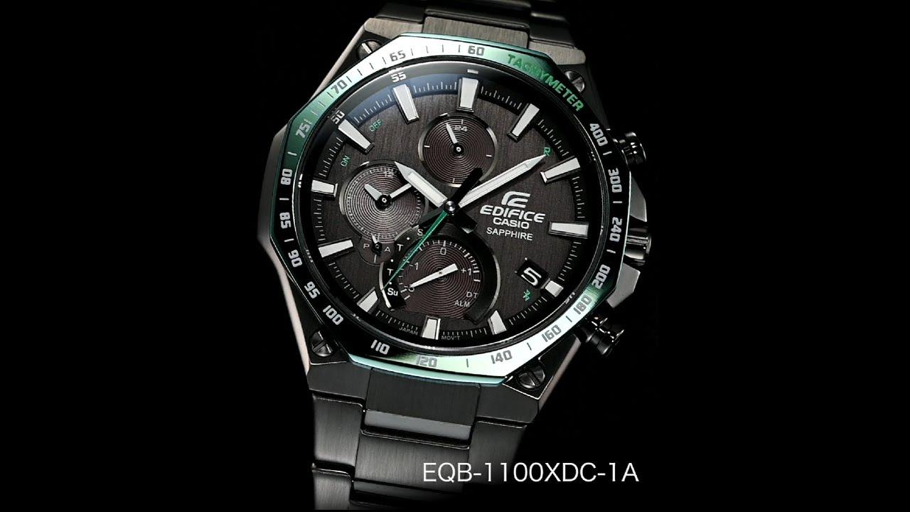 EQB-1100XDC-1A | KẾT NỐI ĐIỆN THOẠI THÔNG MINH | EDIFICE | Đồng hồ | CASIO
