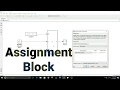 Simulink Tutorial - 24 - Assignment Block