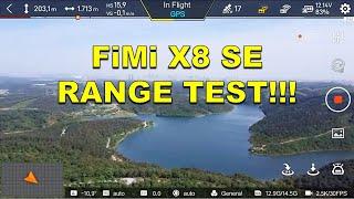 Xiaomi FiMi X8 SE Drone - RANGE TEST (Medium Interference)