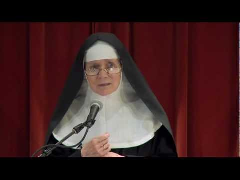 Mother Dolores Hart at Franciscan University