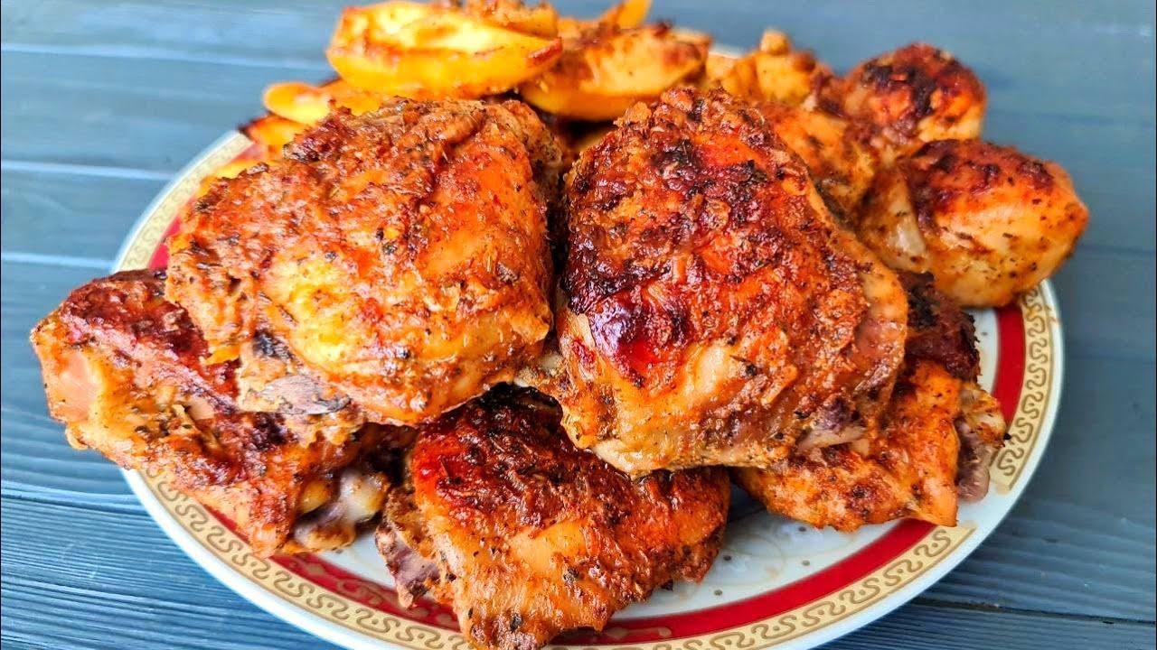 Курица УЖЕ НЕ БУДЕТ ПРЕЖНЕЙ! Я просто добавляю кефир ☆ Курица с картошкой в духовке